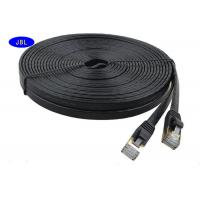 China 1000 Mbps Transfer Rate Ultra - Thin Flat Jumper Cat6 Ethernet Cable / Network Cable on sale