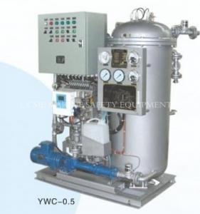 China YWC Series Marine Oil Water Separator Marine Oily Water Separator on sale