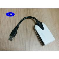 Safety Flexible USB 3.0 Data Cable To HDMI Display Adapter To PC / NB