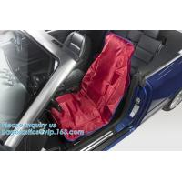 China Reusable Car Seat Cover Protector, Waterproof, Front Seat Cover For Universal Car Seat Airplane Seat Protective Covers on sale