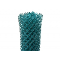 4 Ft Wire Mesh Fence PVC Coated Chain Link Fence For Sports Court for sale