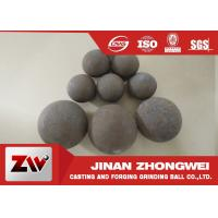 Quality Forged and high cr cast grinding ball for ball mill used in mining wholesale