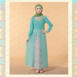 MF17959 2013 Women Mulsim kaftan maxi dress