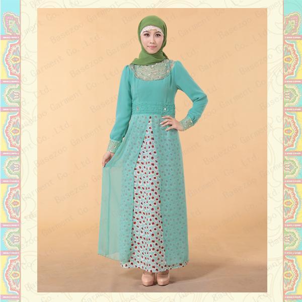 Cheap MF17959 2013 Women Mulsim kaftan maxi dress for sale