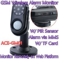 Cheap Home Intelligent GSM Wireless Photo MMS Alarm Camera Monitor W/ PIR Theft for sale