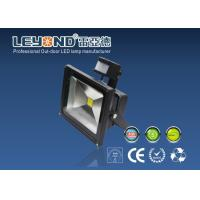 Quality Black 5000k Led Floodlight With PIR Motion Sensor , 100lm / W wholesale