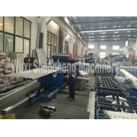 Quality High Accuracy PU Sandwich Panel Machine with 3m Cutting Length wholesale