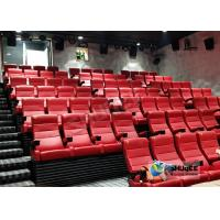 Quality Customized Shopping Mall 4D Movie Theater With Ring Screen / Flat Screen wholesale