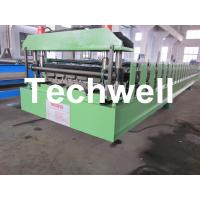 Quality PBR Roof Panel Sheet Roll Forming Machine With 18 Forming Stations and Hydraulic Cutting wholesale