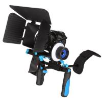 Quality  DSLR RIG Kit - Shoulder Mount +Follow Focus+Matte box Kit For dv / hdv / dslr Camera wholesale