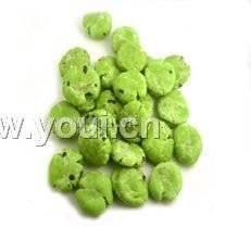 China Wasabi flavor coated peanuts(Kosher) on sale