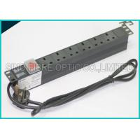 Quality Power Distribution Unit 6 Way UK Socket 19 Horizontal Rack PDU C14 Plug wholesale