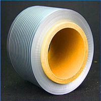 China High Frequency Wire Cable Accessories Wire Wrap With Gray Aluminum - Plastic Composite Tape AlMylar on sale