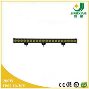 Quality 200w led light bar 24V aluminum housing led light bar for 4x4 off-road vehicle wholesale