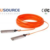 Quality Data Center Huawei Compatible 40G Fiber Optic Cable QSFP + AOC Greater bandwidth wholesale