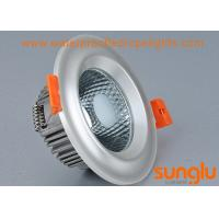 Quality 7W Plated COB LED Surface Mount Downlight Pearl Silver Color With Convex wholesale