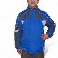 Quality Ski/Winter Jacket with 100% Polyester Lining, Tape Seam, Waterproof and Breathable wholesale