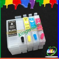 Quality 4 color new printer refillable cartridge for Epson WF-7111 with chip wholesale
