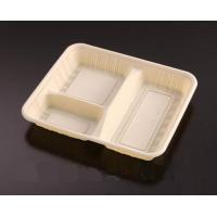 China 3 Compartment Take Out Food Containers / Take Out Food Trays Rectangular on sale