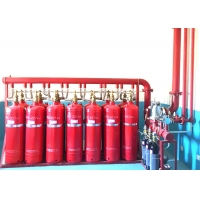 China Single Zone 100KG Automatic Fire Extinguisher System on sale