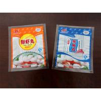 Buy cheap Three Sides Sealing Food Plastic Bag PA / PE Die Cut Stand Up Packaging product