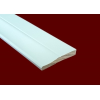 China Residential White Decorative Casing Molding 100% Cellular PVC on sale