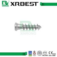 Quality Titanium Alloy Hip / Knee Joint Prosthesis Cannulated Screws For Hip Fracture wholesale