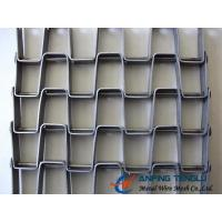 Quality The Great Wall Type Mesh Belt, SS304, SS316 and Galvanized Steel Materials wholesale