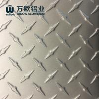 Quality Mirror Finished Aluminium Diamond Plate 1000 Series 3000 Series BV Approval wholesale