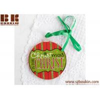 Quality Red and Green Christmas Magnet Ornament Christmas tree Decoration wholesale