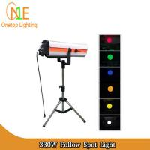Quality 330W 350W 15R DMX512 Follow Spot Light DJ Stage Lighting Led Effect Light Wedding Light wholesale