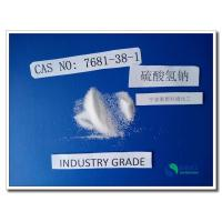 Quality ISO 9001 SGS Sodium Bisulfate Detergent For Ceramic HS Code 2833190000 wholesale
