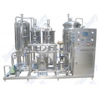 Quality 3000LPH Automatic Beverage Mixing Machine For Beverage And CO2 Mixing wholesale