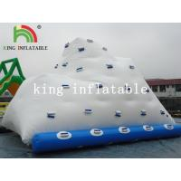 Buy cheap Backyard Inflatable Water Park Iceberg For Lake / River / Swimming Pools from wholesalers
