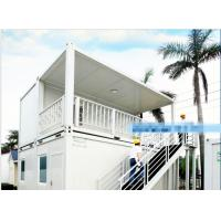 Quality Galvanized Steel Mobile Container Homes Aluminum Alloy Window Wind Resistance wholesale