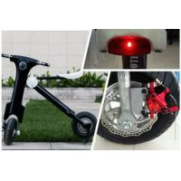 Quality Lithium battery powered 12Ah 48V Folding Electric Bike / motorbike for Teenager wholesale