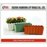 Quality glass type plastic flower pot mould wholesale