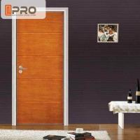 Cheap Modern Aluminum MDF Interior Doors For Home / Hotel And Apartment for sale