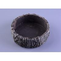 Quality Parties Material concrete cement candle holder round moss effect wholesale