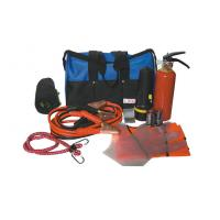 Quality Auto Emergency Tool Kit with Orange color Safety Vest for Car / Truck wholesale