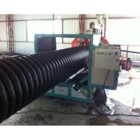 Quality big diameter structure wall profiled winding high stiffness steel pe/hdpe/pp pipe machine extrusion line production wholesale