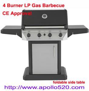 Powder Coated Gas Grill BBQ