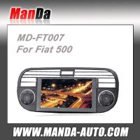 China 2 din Car stereo for Fiat 500 With GPS DVD Bluetooth RDS Radio satellite gps navigation on sale