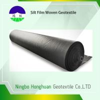 Quality 120gsm Split Film PP Woven Geotextile High Strength Slop Protection wholesale