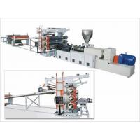 China PVC Rigid Sheet Extrusion Line on sale