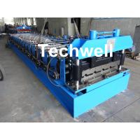 Quality 18 Forming Stations Roof Roll Forming Machine With Manual Or Hydraulic Type Decoiler / Uncoiler wholesale
