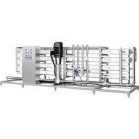 Quality SUS304 Drinking Water Treatment Machine , Reverse Osmosis Purification System wholesale