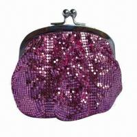 Quality Aluminum Beaded Bag, 3mm Mesh, with Metal Shelf, OEM Orders are Welcome wholesale