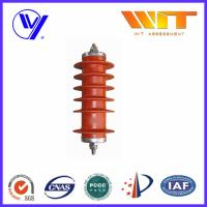 Quality 51KV Metal Oxide Surge Arrester Medium Voltage Protection Gapless KEMA wholesale