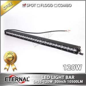 China 30W-210W LED light bar for jeep wrangler ATV UTV OFF road 4x4 on sale